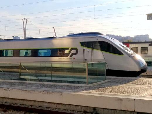 Portugal Alfa Pendular High-Speed Train