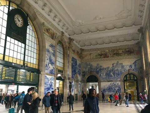 Porto Sao Bento Train Station Hall